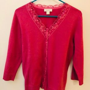 Mauve/pink sweater